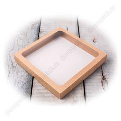 Упаковка с окном для конфет, пряников
