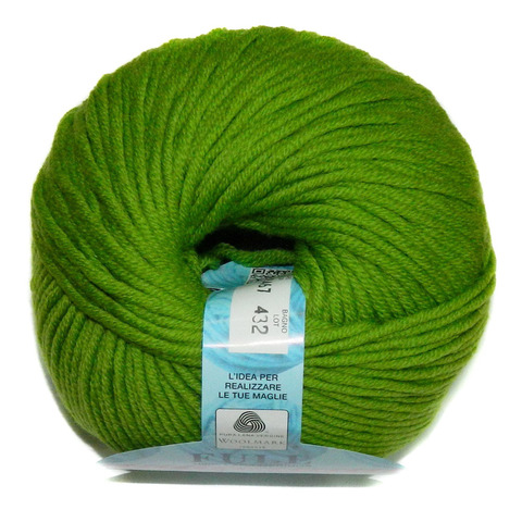 Пряжа BBB Filati Full 9467 зеленый