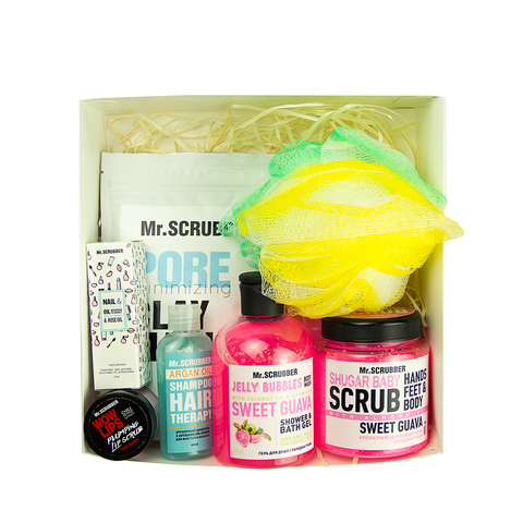 Beauty Box Mr.Scrubber WOMAN