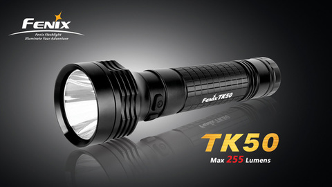 Фонарь Fenix TK50 (Cree R5, 255 лм, 2 x D)