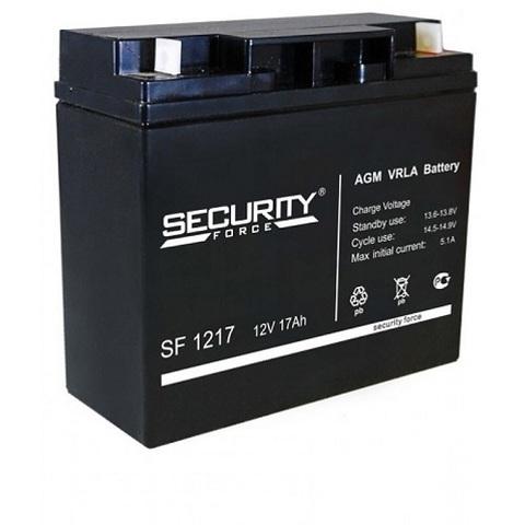 SF 1217 аккумулятор 12В/17Ач Security Force