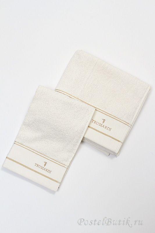 Наборы полотенец Набор полотенец 2 шт Trussardi Luxor белый elitnie-polotentsa-luxor-belie-ot-trussardi-italiya.jpg