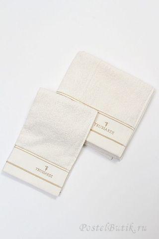 Набор полотенец 2 шт Trussardi Luxor белый