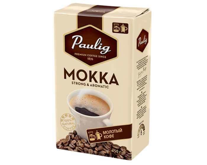 Кофе молотый Paulig Mokka, 450 г (Паулиг)