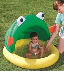 BESTWAY Детский надувной бассейн с навесом