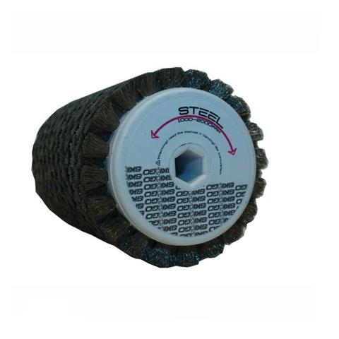 Щетка роторная стальная Skigo для формирования микроструктуры