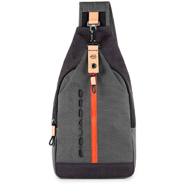 Рюкзак однолямочный Piquadro Blade CA4536BL/GR, gray