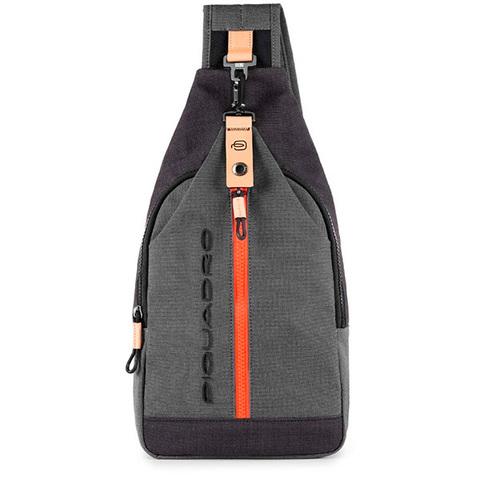 Рюкзак однолямочный Piquadro Blade CA4536BL/GR, gray, фото 2