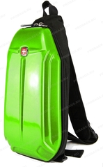 Однолямочный рюкзак SWISSWIN 1556 Зеленый
