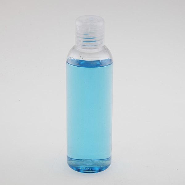 Бутылка для косметики с крышкой флип-топ