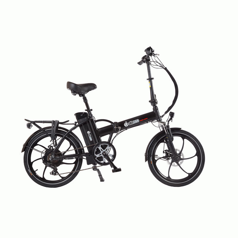Велогибрид Eltreco JAZZ 500W SPOKE MATT BLACK - Велогибриды, артикул: 780630