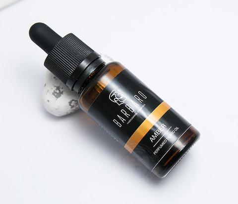 Парфюмированное масло для бороды Barbaro «AMBER» (30 мл)