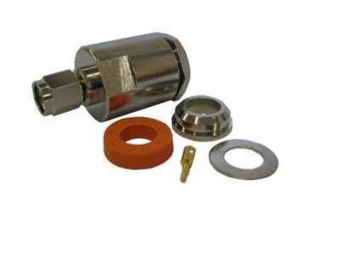 Разъем прижимной SMA S-112-5D-вилка (Закрутка)