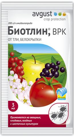 Инсектицид Биотлин, 3мл (от тли, белокрылки)