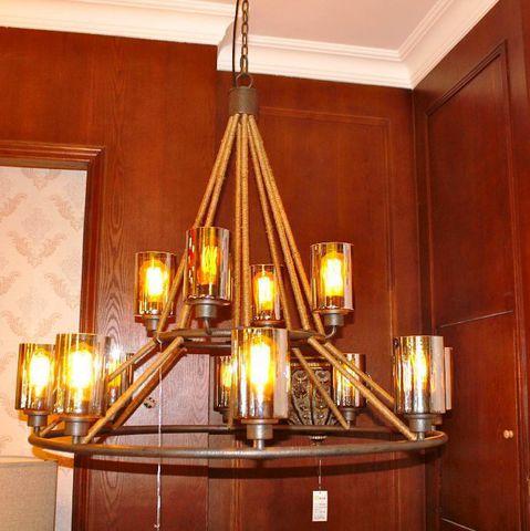 vintage chandelier 40-03  ( by Funky Vintage )