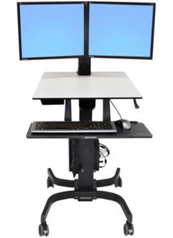 Мобильное рабочее место Ergotron WorkFit-C, Dual Sit-Stand (24-214-085)