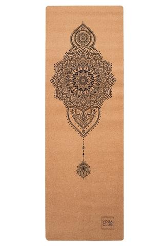 Пробковый коврик для йоги Mehendi 183*61*0,3см