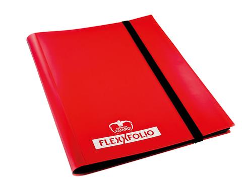 Ultimate Guard - Красный гибкий альбом на 360 карт (3х3)