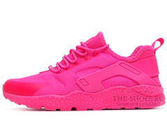 Кроссовки Женские Nike Air Huarache Run Ultra Hyper Triple Pink