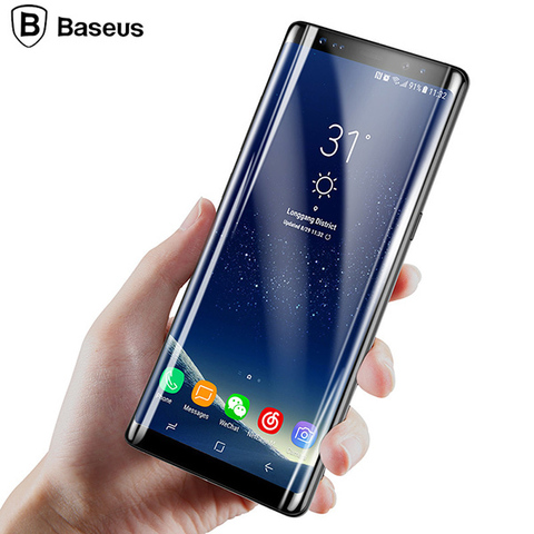 Защитное стекло Baseus 3D ARC Tempered Glass Film для Samsung Galaxy Note 8