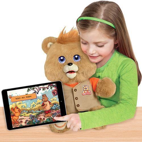 Тедди Ракспин интерактивная игрушка