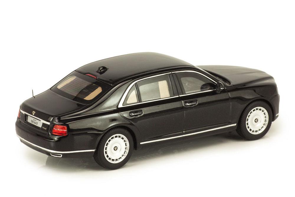 Коллекционная модель AURUS SENAT S600 VLADIMIR PUTIN ARMORED 2019 BLACK