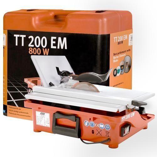 Электрический плиткорез с водяным охлаждением Norton Сlipper TT200EM
