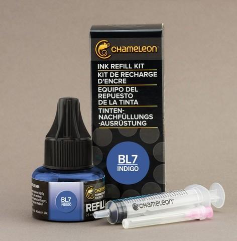 Чернила для маркеров Chameleon индиго BL7, 25 мл