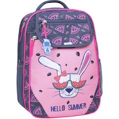 Рюкзак школьный Bagland Отличник 20 л. 321 серый 204к (0058070)