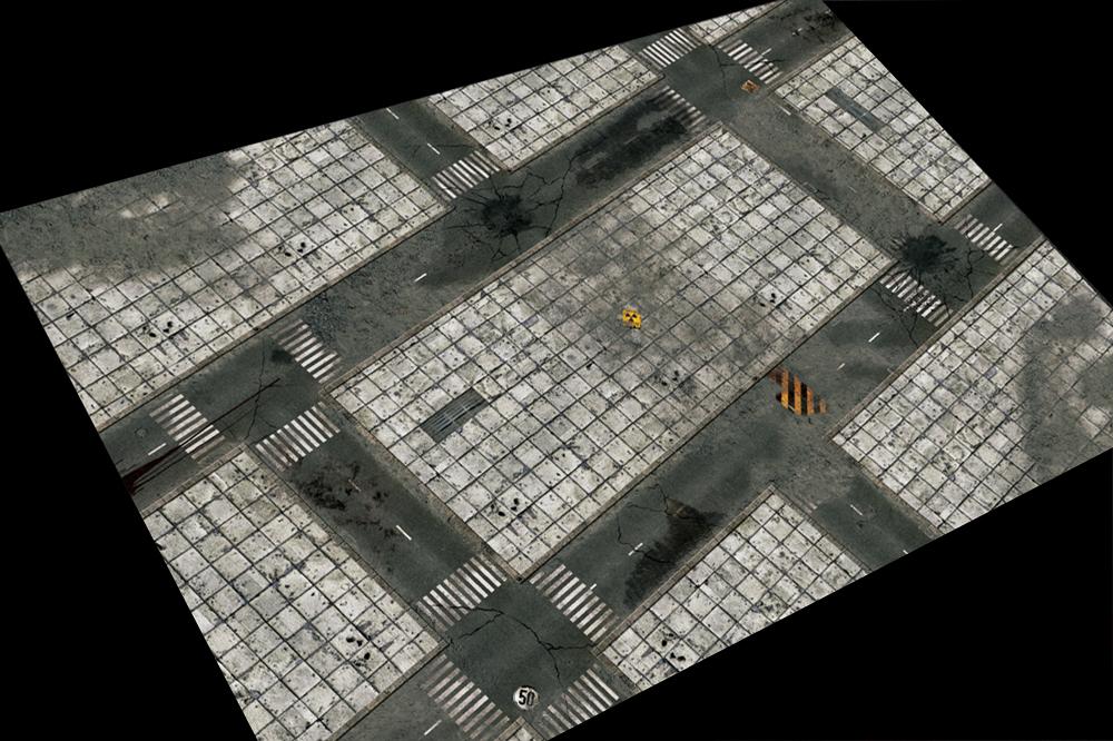 Игровое покрытие Concrete 120x180 см