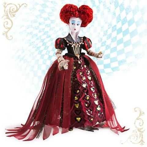 Коллекционная кукла Красная Королева (Королева Червей) - Алиса в Зазеркалье, Disney