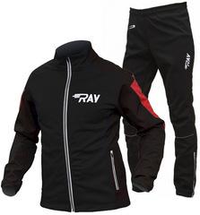 Утеплённый лыжный костюм RAY RACE WS Black-Red 2018 мужской
