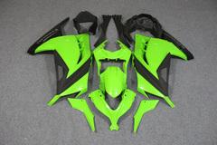 Комплект пластика для мотоцикла Kawasaki Ninja 300R 13-15 Зеленый