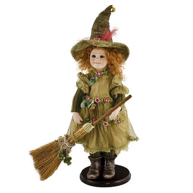 Кукла фарфоровая коллекционная Marigio Alice Маленькая ведьма