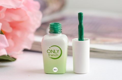 Гель-лак Only French, Green Touch №385, 7ml