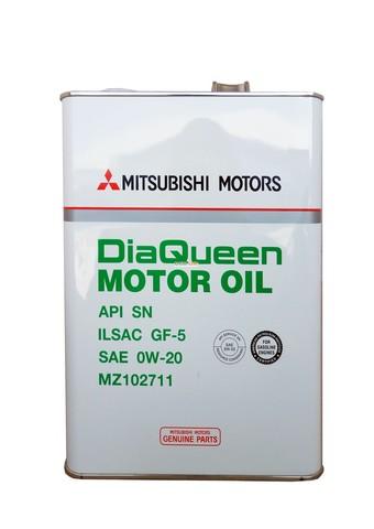MITSUBISHI MOTOR OIL 10W30 SN/GF-5 Масло моторное (железо/Япония)
