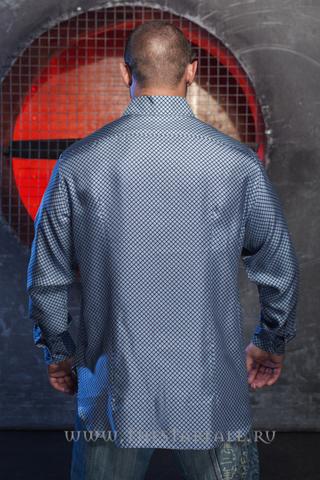 Рубашка мужская шелковая Brioni 1203