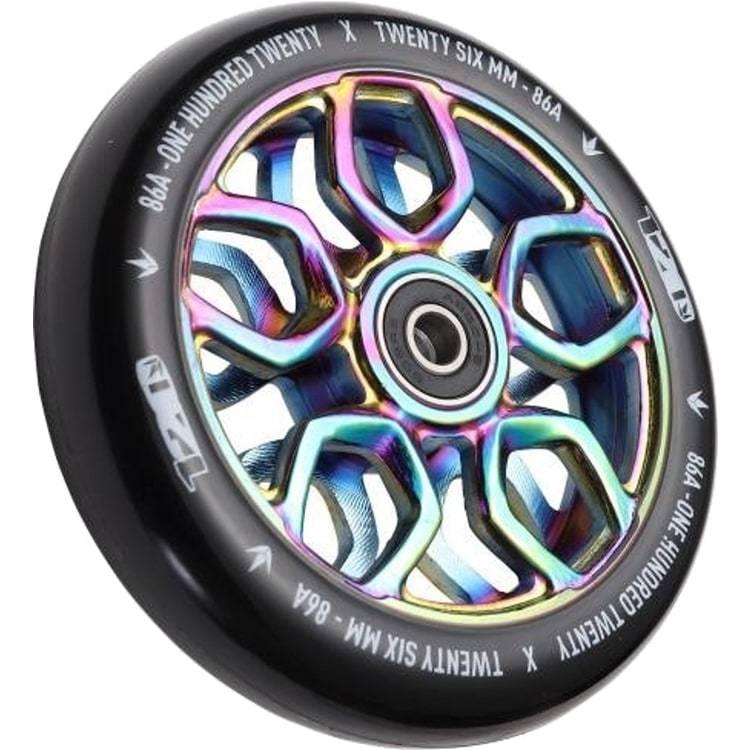 Колёса для самоката Blunt 120mm Wheels Lambo Black/Neochrome (пара)