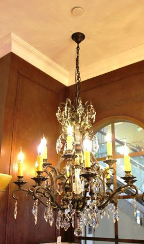 vintage chandelier 40-04  ( by Funky Vintage )