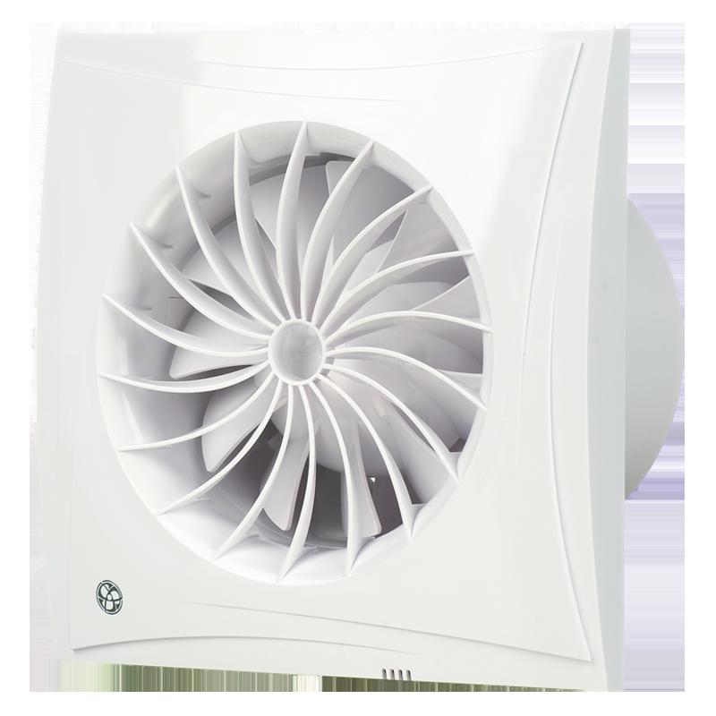 Накладные вентиляторы Blauberg Sileo Вентилятор накладной Blauberg Sileo 125 H (таймер, датчик влажности) силео.png