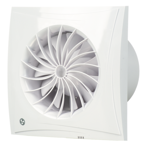 Вентилятор накладной Blauberg Sileo 125 H (таймер, датчик влажности)