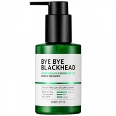 Маска-пенка от чёрных точек, SOME BY MI, Bye Bye Blackhead 30 Days Miracle Green Tea Tox Bubble Cleanser, 120 г