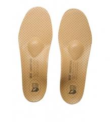 Стельки с кожаной поверхностью для коррекции продольно-поперечного плоскостопия 2 и 3 степени