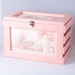 Ящик с крышкой персиковый 22238