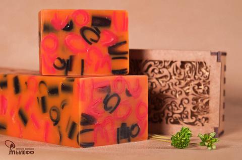 Глицериновое мыло ручной работы Марш Тореадора (аналог аромата Dior Fahrenheit) внарезку 100 г ТМ Мылофф