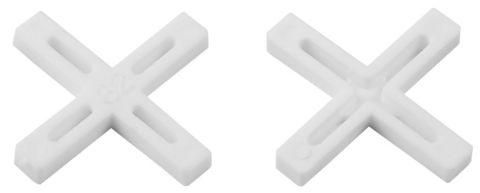 Крестики для кафеля, 4мм, ЗУБР 33811-4, 100шт