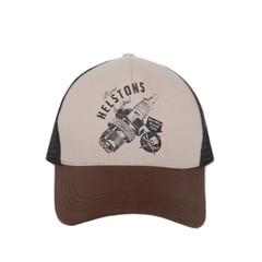 Trucker Cap Spark / Бело-коричневый