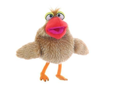 Living puppets. Мягкая игрушка на руку Птичка Петронелла