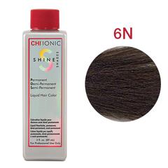 CHI Ionic Shine Shades Liquid Color 6N (Светло-коричневый) - Жидкая краска для волос