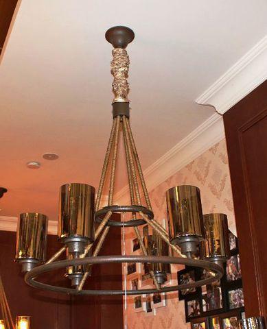 vintage chandelier 40-05  ( by Funky Vintage )